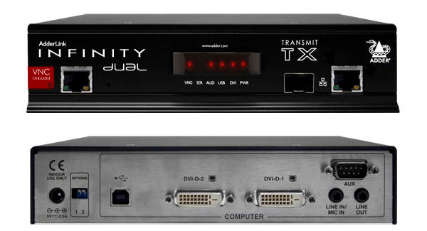 infinity 2. alif2112t infinity dual transmitter tx unit, 2
