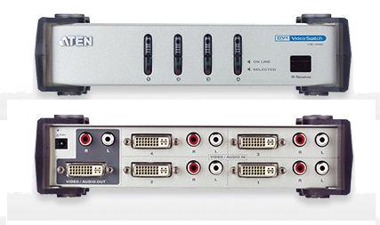 KVM Choice UKVS Aten Port DVI Video Switch With Audioproduct - Port dvi