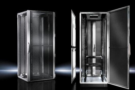 Kvm Choice Uk Rittal 8907502 Ts8 Server Enclosure Black